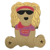 Jammy Jams 'Lobie The Lion Teething Toy' by Gumeez - Purple/Pink w/ 10 Free Jammy Jams Lullaby Downloads