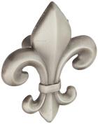 Atlas Homewares 4006-P 5.7cm Fleur D'Lis Knob, Pewter