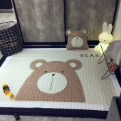 Thick Cotton Baby Crawling Mat Cute Bear Play Carpet Children Bedroom Decor Living Room Rugs by IHEARTYOU