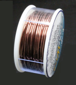 Beadsmith Craft Wire 20 Gauge Antique Copper Round Wire 10 Yards