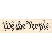 We The People Constitution Rubber Stamp