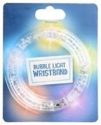 Bubble Led Wristband Bicycle Cycling Light Up Flashing Bracelet Multicoloured