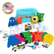 Felt Monsters Sewing Kit by Wildflower Toys