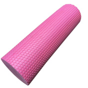 Foam Yoga Roller by Vibola 45/15cm Physio EVA Trigger Point Gym Sports Massage Back Exercise Home Massage