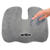 Big Ant Coccyx Orthopaedic Comfort Memory Foam Seat Cushion For Back Pain And -