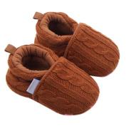 YJYdada Baby Toddlers Infant Warm Knitted Prewalker Soft Sole Shoes Winter (12