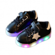 Besde Baby Sneaker LED Luminous Child Sneakers Baby Fashion Light Shoes