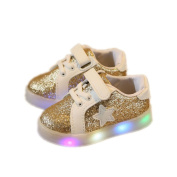 Besde Baby Sneaker LED Luminous Child Sneakers Toddler Colourful Light Shoes