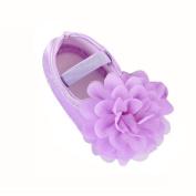 YJYdada Baby Toddlers Infant Chiffon Flower Elastic Band shoes Soft Sole Crib Shoes (13