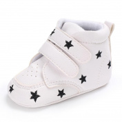 Honhui 2017 Baby Girl Boys heart-shaped Embroidery Hight Cut Sneaker Kids Anti-slip Shoes (12