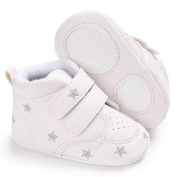 Hongxin Baby Girl Boys heart-shaped Embroidery Hight Cut Shoes Sneaker Anti-slip Soft Sole Toddler