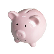 Piggy Banks for Kids, Ceramic Material, Cute Pig for Decoration, Baby Nursery Gift