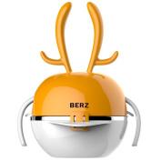 Baby Dinnerware Set, Five In One Multi-function, BPA Free Rainbow Elk Orange