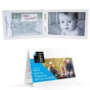 First Grandchild Poetry Frame for New Grandparents and Guide to Free and Low Cost Activities with your Grandkids