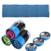 AstonStar Cooling Towel & Piggy Bank cans for Sports, Workout, Fitness, Gym, Yoga, Pilates, Travel, Camping & More
