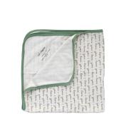 Cat & Dogma 100% Organic Cotton Swaddling Newborn Baby Blanket