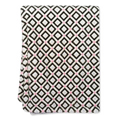 Jonathan Adler Crafted By Fisher Price Diamond Plush Blanket Black Grey White Pink