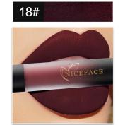 Make Up Lipstick, Gillberry New 18 Colours Lip Lingerie Matte Liquid Lipstick Waterproof Lip Gloss Makeup Lipstick