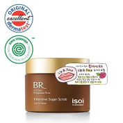 isoi Bulgarian Rose Intensive Sugar Scrub for Lip & Face 60g - anti-ageing, revitalising, gently exfoliating, for dry and sensitive skin