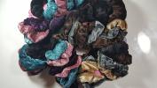 48 Pcs Elastic Scrunchie Hair Rope Tie Velvet Ponytail Holder Women Hair Ring.