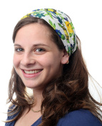Colourful Headband Head Covering Jewish Pre Tied Tichel Hair Snood Bandana Mitpachat