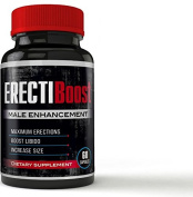 ErectiBoost - BOOST Your Erections - Supercharge Erection Size, Erection Hardness, and Get POWERFUL Erections - Male Enhancement Pills - Increase Size NOW!
