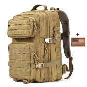 Military Tactical Backpack Large 3 Day Assault Pack Army Molle Bug Out Bag Backpacks Hunting Rucksacks 40L