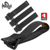 Maxpedition 7.6cm TacTie - Pack Of 4