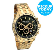 Sekonda Classique Men's Chronograph Gold Tone Bracelet Watch -from Argos On