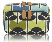 Orla Kiely Climbing Rose Wash Bag, Medium