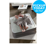 Intex Queen Premaire Raised Airbed And Pump. From The Argos Shop On