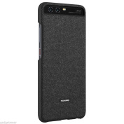 Official Huawei Car Case Magnetic Plate Fabric Rear For P10 Plus - Dark Grey