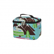 Happy Camper Print NGIL Cosmetic Case
