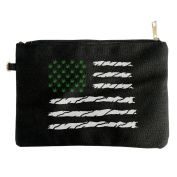 USA Weed American Flag Zipper Zippered Clip-On Bags For Cosmetics Skincare Set Facial Cleanser Beauty Stuff
