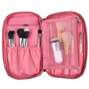TMERY Professional Cosmetic Makeup Brush Handbag Beauty Brush Holder