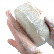 Exfoliating Thick Loofah Pad 100% Natural Loofah Sponge Spa Scrubber for Men and Women Tougher Skin