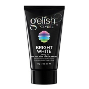 Gelish PolyGel Nail Enhancement Bright White Opaque - 60g