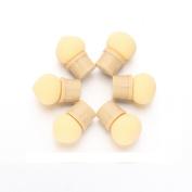 6 Pcs Sponge Set ,Vanvler Glitter Powder Picking Dotting Gradient Nail Art Tools Mini Shading Head