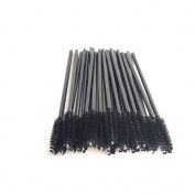 50PCS Disposable Eyelash Mascara Brushes Wands Applicator Makeup Brush Kits Makeup Brush Applicator Cosmetic Eye Wands Cosmetic Tool