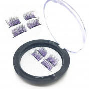 Nibito Ultra-thin 0.2mm Magnetic Eye Lashes 3D Reusable False Magnet Eyelashes