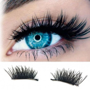 DWD Ultra-thin 0.2mm Magnetic Eye Lashes 3D Reusable False Magnet Eyelashes C