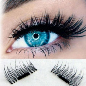 DWD Ultra-thin 0.2mm Magnetic Eye Lashes 3D Reusable False Magnet Eyelashes