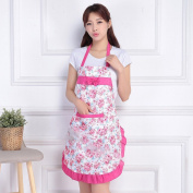 Home Textiles Home Cooking Apron Adult Integrated Kitchen Sleeveless Apron Waterproof Anti - Oil Apron,A
