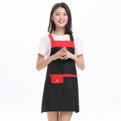 Modern Home Apron Kitchen Overalls Antifouling Anti - Oil Aprons Flap Waist Coat Adult Aprons,C