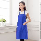 Home Kitchen Apron Cooking Anti - Pollution Apron Polyester Cotton Card Waterproof Anti - Pollution Work Clothes Advertising Apron,D