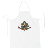 Retro Pirate Sail-Tattoo Apron o290b