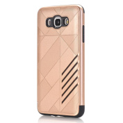 Coohole New Fashion Hard Soft Rubber Impact Armour Back Hybrid Protective Case Cover For Samsung Galaxy J7