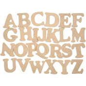 Wooden Letters, A-Z, H
