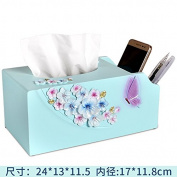 European-style living room tissue tube simple home dining tissue box roll paper tube round bedroom napkin tube, B-1