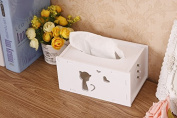 box-mounted paper towels desktop storage boxes simple modern, kitten